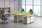 White Customized Metal Steel Office Staff Workstation Desk Frame with Ht87-3