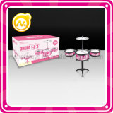 Kids Pink Jazz Drum Set