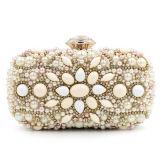 Fashion Women Bags New Gold Beaded&Rhinestone Evening Bag Handbag Eb709
