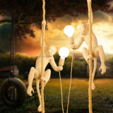 Newest Hotsale Monkey Chandelier Lamp for Home Decoration Hanging Lighting