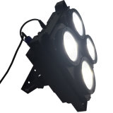 Rasha Hot Sale 4 Heads 4*100W 2in1 COB Warmwhite Coolwhite LED Blinder Light Audience Light for Film Studio TV