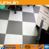 Popular Steel Plate Grain PVC Flooring in Different Colors