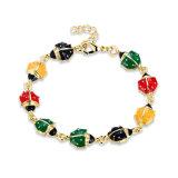 Gold Women Charm Bracelet Animal Shape Pendant Bracelet