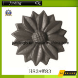 Cast Iron/Steel Rosettes Ornamental Wrought Iron Flower for Decoration