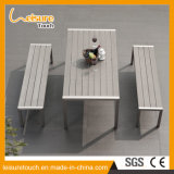 Multi-Function Anti-Aging Polywood Aluminum Leisure Dining Table and Chair Outdoor Garden Patio Bench Furniture