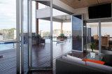 Hot Sales Vertical Aluminium Glass Folding Doors for Meeting Room
