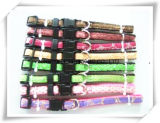 Many Different Design PU Webbing Nylon Pet Collar and Leashes, Custom Pet Products