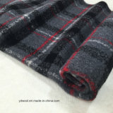 Stock/Ready Check Wool Fabric for Overcoat