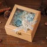 Wooden Preserved Flower Gift for Home Decoration
