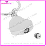 Stainless Steel Memorial/Keepsake/Funeral Jewelry Pendants for Ashes