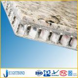 Building Materials Marble Stone Finish Aluminum Honeycomb Panel