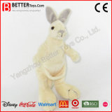 Super Soft Stuffed Animal Plush Kangaroo Toy for Children