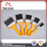 High Quality Black PBT Material Wire with Yellow Handle Painting Brush