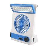 LED Portable Desk Lamp 17W USB Charging Multi-Function Fan