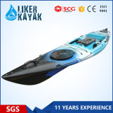 Liker Angler Series 4.3m Fishing Boat Sit on Top Could Added with a Motor to Free Your Hands