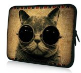 "Cat 13"" Laptop Netbook Sleeve Case Bag Soft Pouch for HP Probook 430 13.3"""
