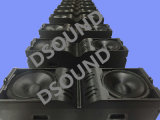 """V25 Double 15"""" Three-Way Line Array System for Stage"""