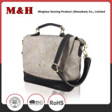 Genuine Leather Neutral Portable Gray Designer Handbags