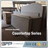 Natural Stone Green Granite Countertop with Laminated Flat Polished-