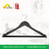 Wooden Clothes Hangers with Square Bar (WS300)