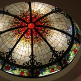 Hand Made Custom Tall Stained Glass Room Cover Dome