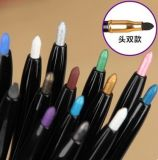 Hot Sale Coloration Automatic Double-End Waterproof Eyeliner Pen
