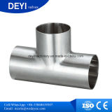 304/316L Sanitary Stainless Steel Weld Equal Tee (DYTF-014)