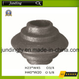 Cast Iron/Steel Square or Round Collar Wrought Iron Collar/Base