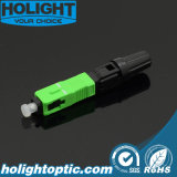 Field Assembly Fast Connector Sc/APC Type with Pre-Polished Ferrule