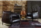 Leather Home Furniture Recliner Sectional Singer Livingroom Sofa (UL-NSC109)