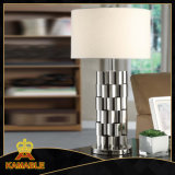 Good Quality Silver  Steel Desk Lamp (KABT-1021)