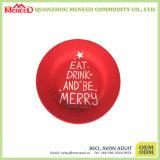 "10"" Full Printing Decorative Christmas Melamine Plate"