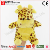 Soft Toy Plush Aniaml Stuffed Giraffe Hand Puppet for Kids