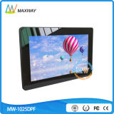 Tempered Glass Vesa Wall Mount 10 Inch Digital Picture Frame Motion Sensor with RoHS
