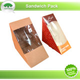 Printed Sandwich Box with Window