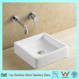 Commercial Bathroom Countertop Square Sink