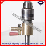 Straight Shank Water Drilling Adapter / Glass Drill Bit