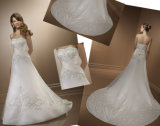 Wedding Dress, Bridal Gown for Pregnant (MIC-105)
