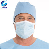 Blue Fluid Resistant Ear-Loop 3 Ply Surgical Mask with Bfe99%