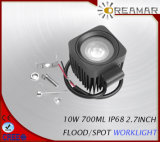 10W 12V 2.7inch LED Work Lamp with Ce RoHS Certification