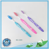 Transparent Soft Rubber High Class Adult Toothbrush