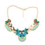 Colorful Stone Necklace/Fashion Necklace/Jewelry Necklace (XJW12045)