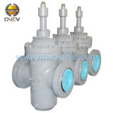 Flat Gate Valve With Double Disc