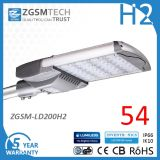 200W UL Listed High Power LED Street Light for Area Lighting with High Lumen Output