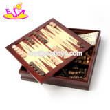 New Hottest Educational Game Wooden Children Playing Chess with Chess Pieces W11A078