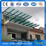 3-19mm Acid Etch Flat/Bent Tempered Glass for Building