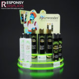 Colored Acrylic Pop Care Products Stand Counter Essential Oil Display Rack