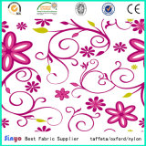 PVC Coated Polyester Printed Fabric 600d for Storage Bags