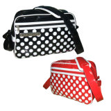 PVC Vinyle Leather Shoulder Messenger Notebook Bags for Girl