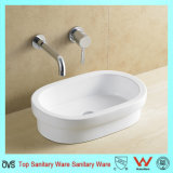 Oval Wash Basin Vanity Basin Without Overflow